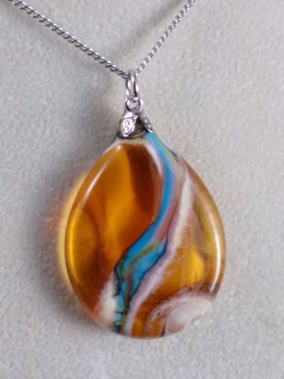 Picture of Flat Drop Amber